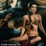 Photo of Carrie Fisher as Princess Leia in Star Wars