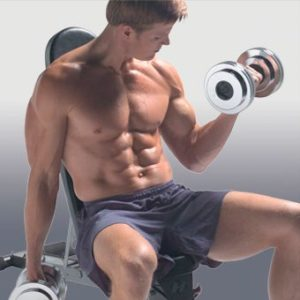 Guy Working Out, No Scarf Needed