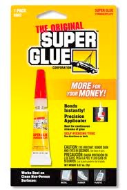 Super Glue To The Rescue!