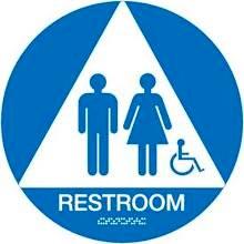 Restroom, Handicap Sign